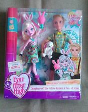 EVER AFTER HIGH - BUNNY BLANC AND ALISTAIR WONDERLAND  - CARNIVAL DATE DOLLS