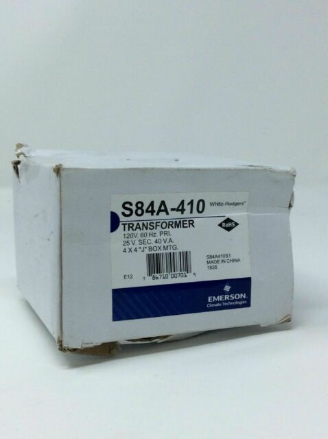 OPENBOX Emerson S84a-410 25vac 40-va Class 2 Transformer for sale online