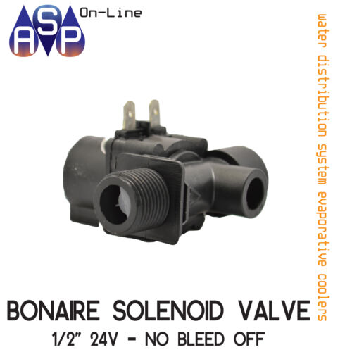 GENUINE BONAIRE SOLENOID VALVE 12 WITH NO BLEED OFF 0080591SP