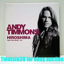 Andy Timmons Hiroshima(Pray For Peace)Japan Promo CD Ear X-tacy Danger Danger
