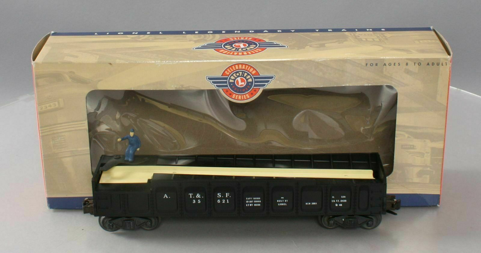 LIONEL 6 26757 OPERATING BARREL auto,  nuovo 1999  FACTORY scatolaED WITH BARRELS etc