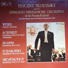 SLS 5212 Mravinsky & The Leningrad Philharmonic at the Vienna Festival 4 LP b...