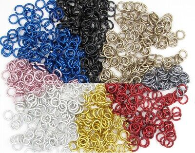 Jeweler Starter Kit JUMP RINGS Anodized Aluminum 3//8 16g American Chainmail