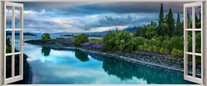 Huge-3D-Panoramic-Exotic-Tranquil-Window-View-Wall-Stickers-Mural-458