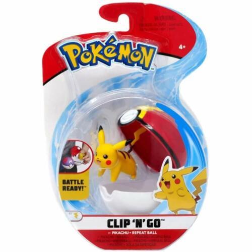 POKEMON clip n Go Poke Ball-Uno in dotazione si sceglie