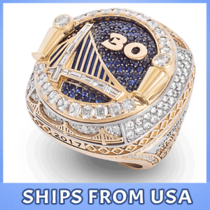 FROM-USA-GOLDEN-STATE-WARRIORS-2018-Championship-Ring-CURRY-amp-DURANT-GIFT