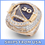 FROM-USA-GOLDEN-STATE-WARRIORS-2018-Championship-Ring-CURRY-amp-DURANT-GIFT thumbnail 1
