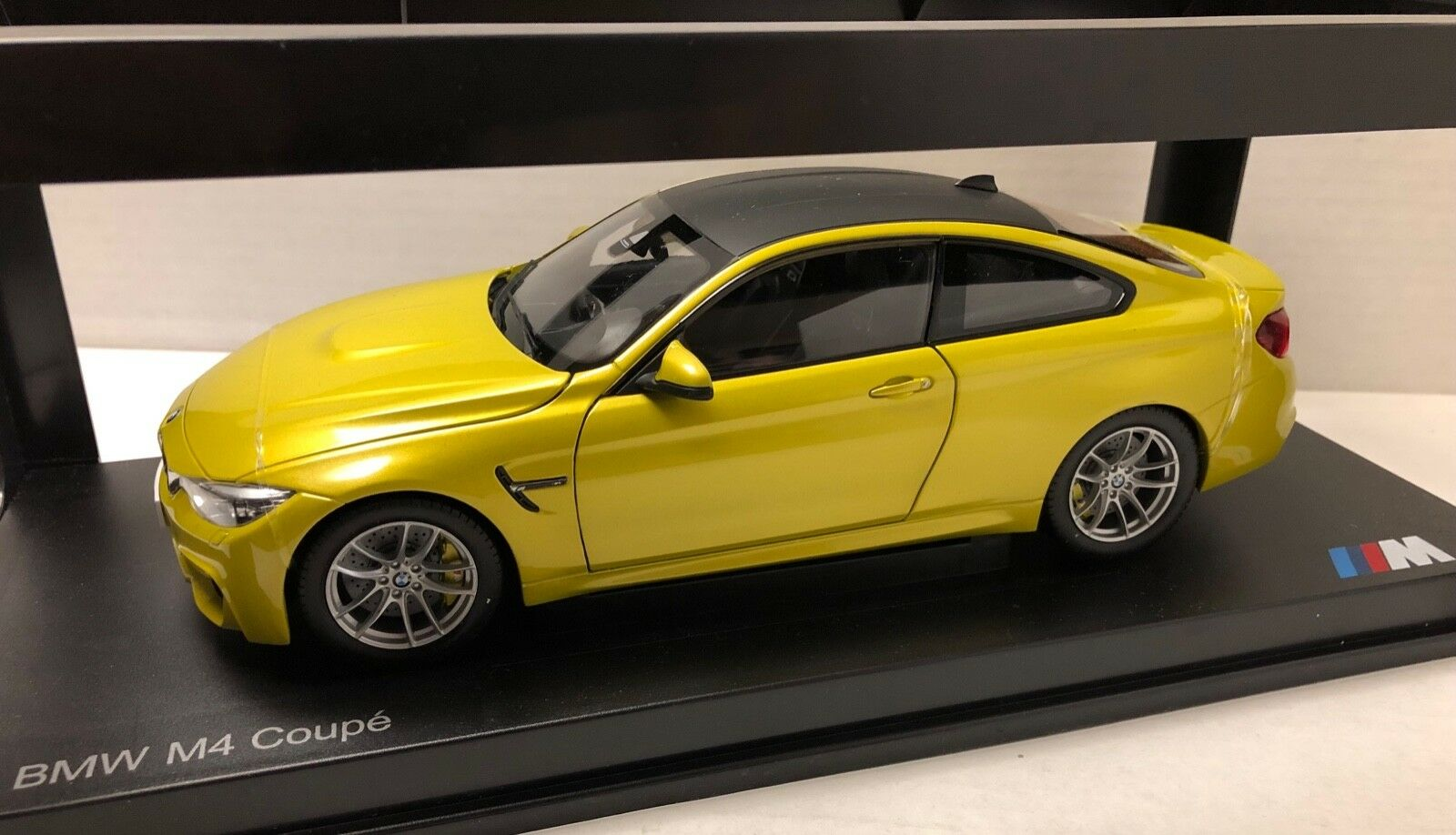 Paragon BMW 4 series M4 Coupe 1 18 Austin Yellow Metallic
