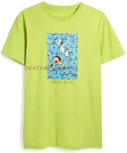 6be8c7583e NEW Primark Difuzed Rick and Morty Licensed Mens Adult Swim Cotton T ...