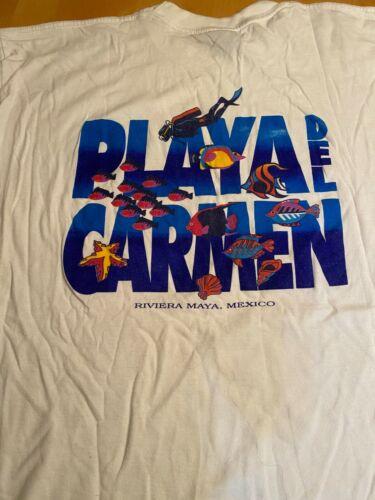LA IGUANA Playa Del Carmen Dive Shirt XXXL