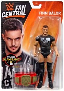 Wwe Finn Balor Figure Fan Central Toys R Us Exclusive Slam Band Slap
