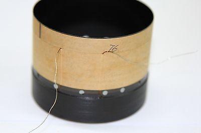 1pcs 63.5mm 2.5/' inch black aluminous bass loudspeaker woofer speaker voice coil