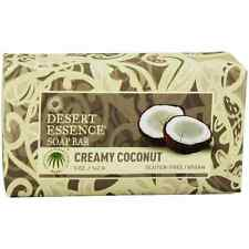 Desert Essence Bar Soap, Creamy Coconut 5 oz