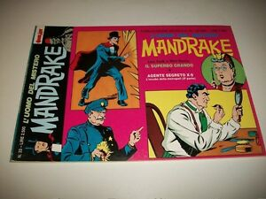 MANDRAKE-N-20-IL-SUPERBO-GRANDO-LEE-FALK-amp-PHIL-DAVIS-ED-COMIC-ART-MARZO-1993-OK