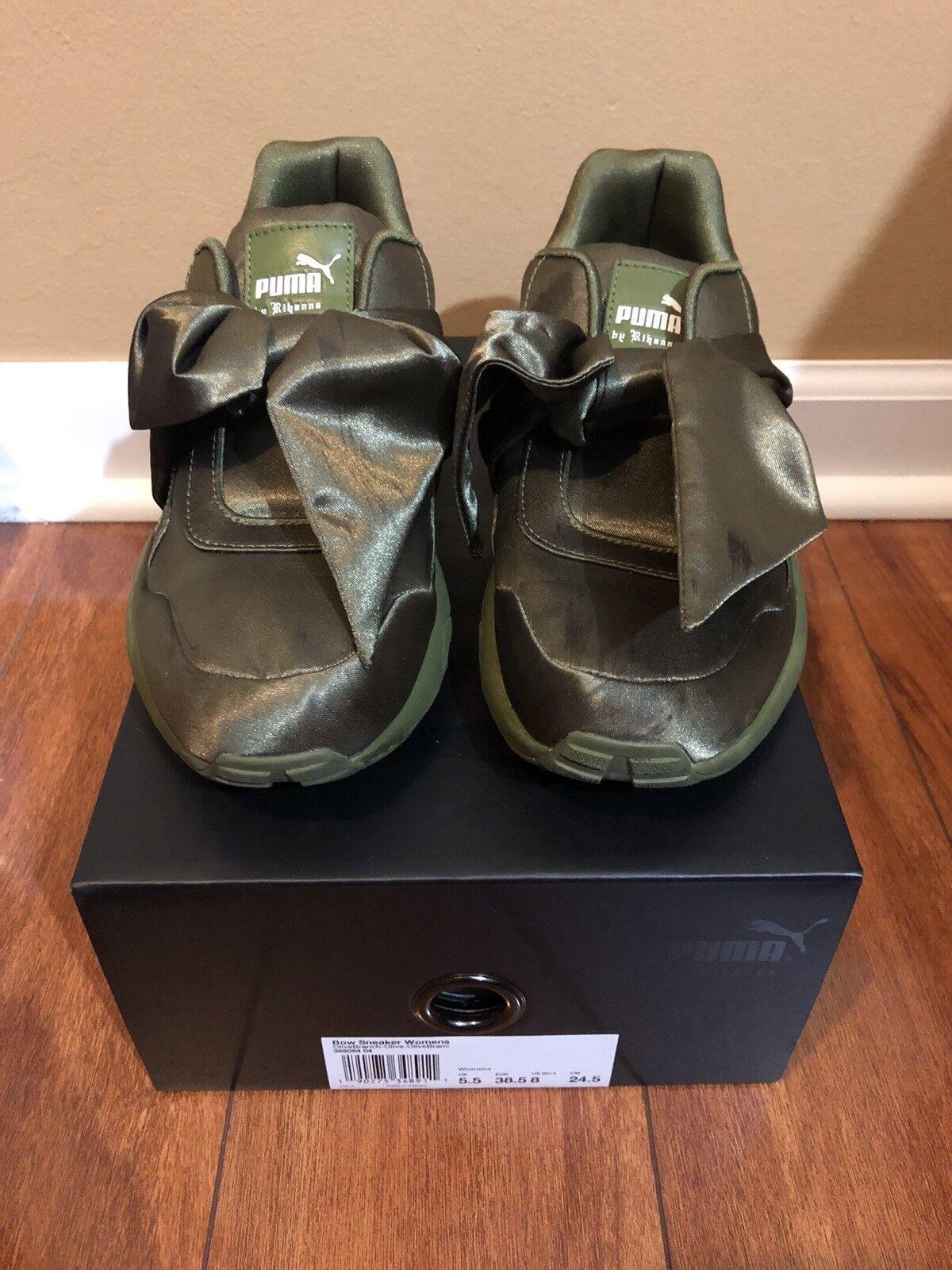 Puma x Fenty Rihanna Women's Bow Sneaker Size 8