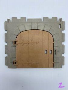 Playmobil-3666-Castle-Parts-Large-Door-Gate-Kings-Medieval-Knights
