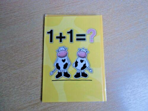 Glückwunschkarte zur Geburt Klappkarte Fachhandelsware mit Innendruck