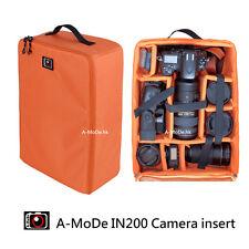 Large DSLR SLR Camera Bag Luggage Insert Handbag Padded Partition Case Lens