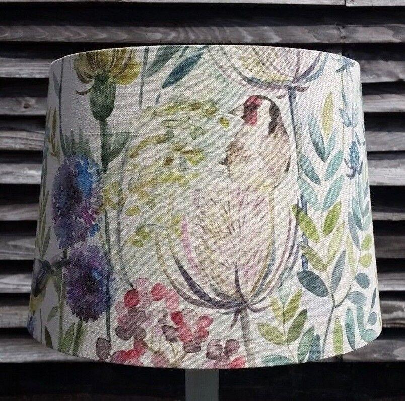 NEW Handmade LAMP SHADE in VOYAGE Morning Chorus Fabric