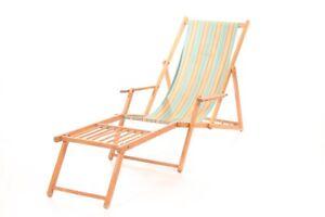 Liegestuhl Gartenstuhl.Details Zu Holz Sonnenliege Gartenliege Deckchair Liege Liegestuhl Gartenstuhl Verstellbar