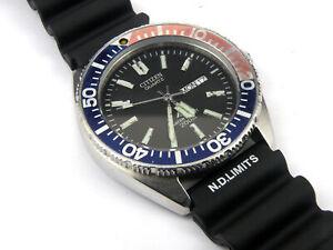 Men-039-s-Citizen-Pepsi-Promaster-5502-F50344-Diver-Submariner-200m