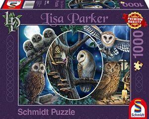 Schmidt in Owl Wood Jigsaw Puzzle