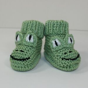 PRINTED-KNITTING-INSTRUCTIONS-TODDLER-FROG-BOOTS-KNITTING-PATTERN