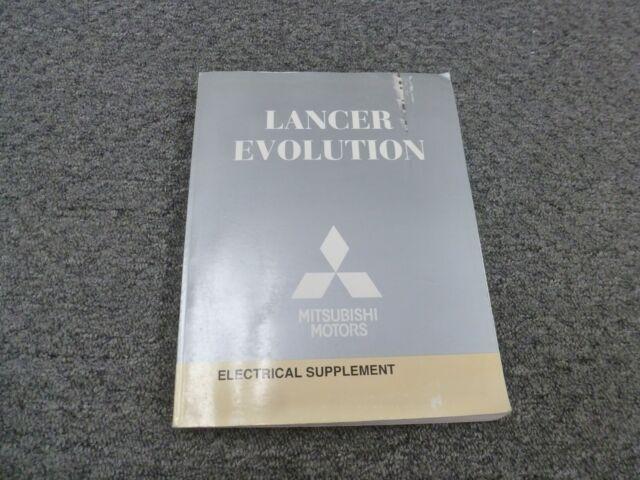 2010 Mitsubishi Lancer Evolution Electrical Wiring