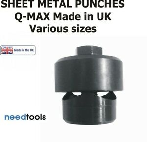 Q-Max-Sheet-Metal-Punches-Assorted-sizes-10mm-to-80mm