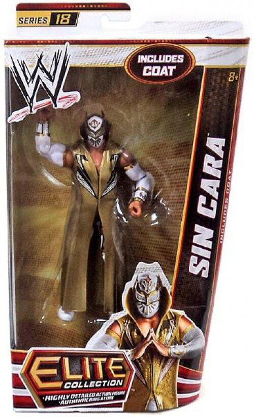 WWE Wrestling Elite Series 18 Sin Cara Action Figure [Coat]