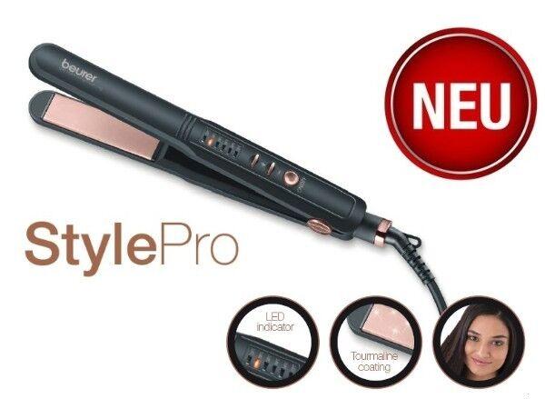 Beurer HS 40 StylePro Haarglätter mit LED-Anzeige Haarstyler Glätteisen HS40