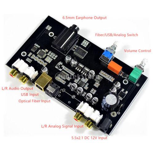 MS8416 DC 12v Optischer Koaxialer Usb-eingang Decoder Hifi Audio PCM5100
