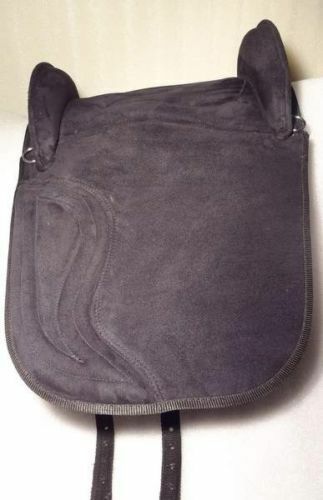 Yesrd Spanish Treeless All Purpose Horse Saddle made of Synthetic Suede 14