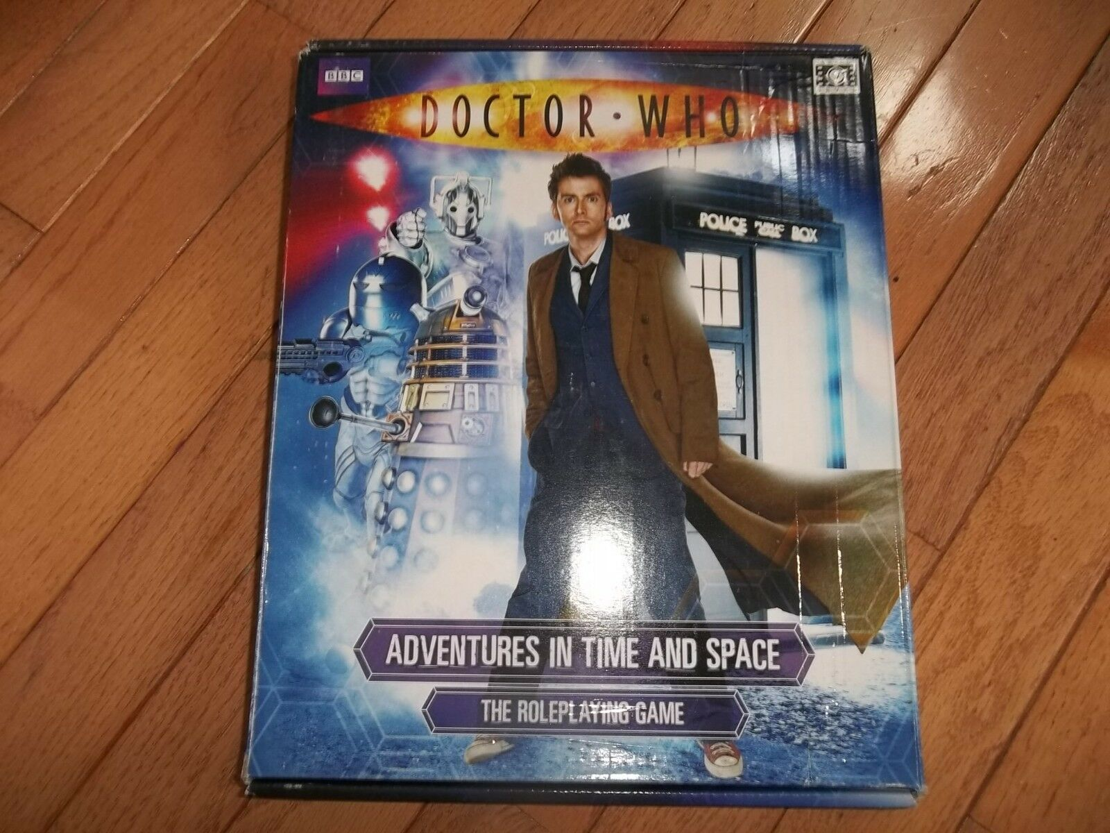 Cubicle Seven C7 BBC Doctor Who Adventures in Time and Space CB71100
