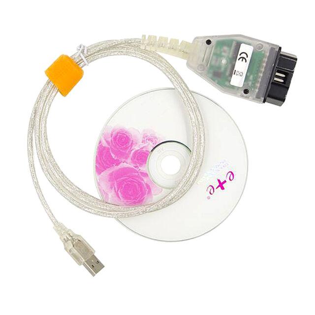 BMW INPA K+DCAN K+CAN Ediabas SSS NCS OBD2 USB Interface Diagnostic Cable