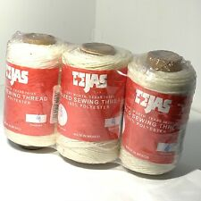 Tejas White Waxed Thread 4 Oz Spool 1220-03 by Tandy Leathercraft