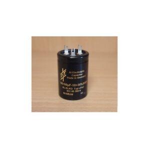 14x30mm F/&T Fischer /& Tausche 10uF//500V condensatore elettrolitico assiale