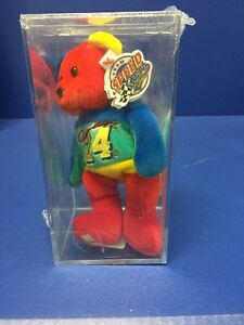 NASCAR Jeff Gordon  24 Team Speed Bear Signature Series Beanie Baby ... 3e873ec2a82