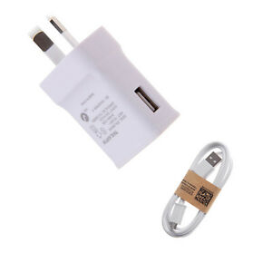 Wall-Charger-Power-Adapter-2A-AU-Plug-cable-For-Samsung-Galaxy-S6-S7-Edge