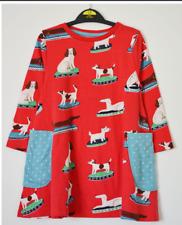 NEW RRP £19.99 Mini Boden Girls 3//4 Sleeve Pocket Tunic Dress BU14