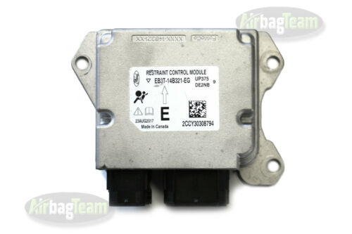 Ford Ranger Airbag ECU Control Module EB3T14B321EG No Crash Data