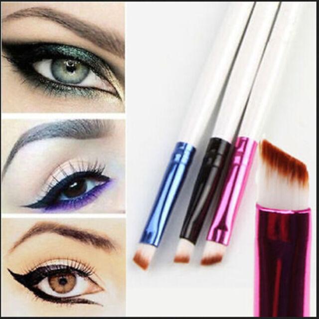 Soft Oblique Makeup Eyebrow Brush Eyeshadow Blending Angled Brush Tool sv