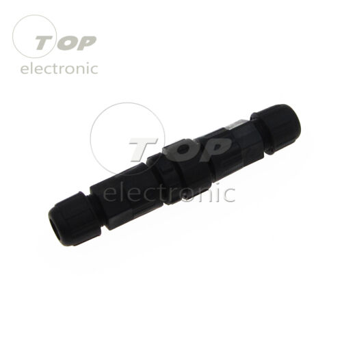 M14-4 IP67 IP68 4 Pin impermeable Electric Cable Plug Socket Connector