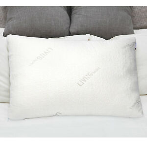 Shredded-Memory-Foam-Pillow-W-washable-removable-cooling-cover-Standard-size