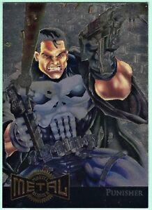 Marvel Comics El Castigador 1995 Fleer Metal Blaster #9 de 18