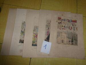 1-5-LITHOGRAPHIES-COULEUR-1834-DELAUNOIS-COSTUMES