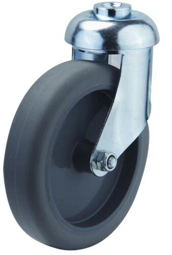 Apparaterolle SB Rolle 125mm 100Kg Tragkraft Lenkrolle Einkaufswagen