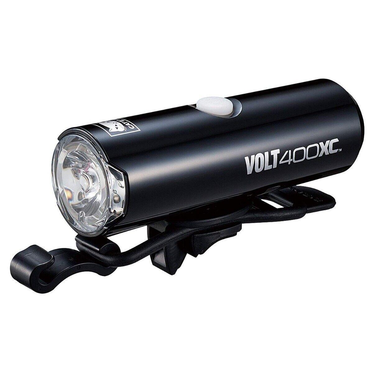 Cateye HLEL07 VOLT400XC 400 Luuomini UsbRechargeable biciclettatte Phare Neuf