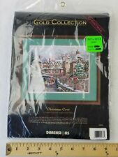 Dimensions Christmas Treasures Counted Cross Stitch Aghan Kit 29x45