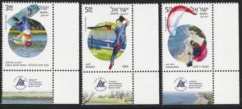 Israel Scott #2011-13, Lower Right Tab Singles 2014 Complete Set FVF MNH
